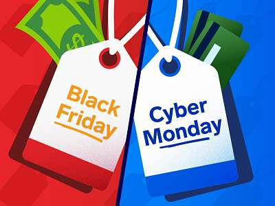 Black Fridy and Cyber Monday